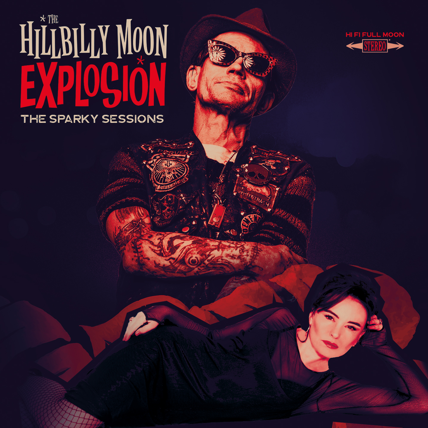 Hillbilly Moon Explosion - The Sparky Sessions - LP
