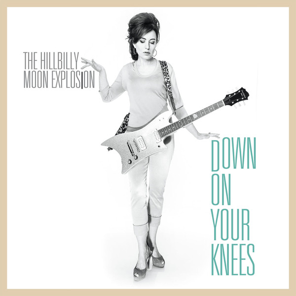 Hillbilly Moon Explosion, The - Down On Your Knees (Duck-egg Blue vinyl) - 7´
