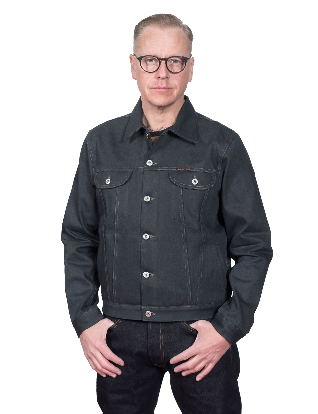 Indigofera - Banks Denim Jacket - Powderville 12 oz