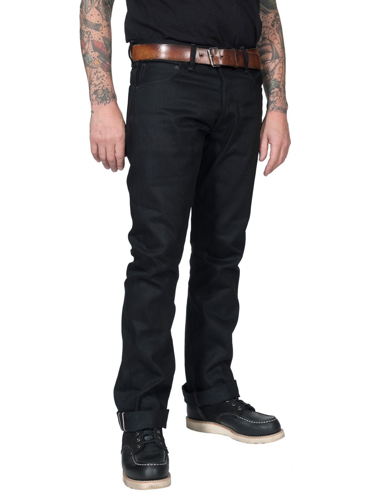 Indigofera---Iconic-Hawk-Jeans-Gunpowder-Black-Selvage-Jeans---14oz-1