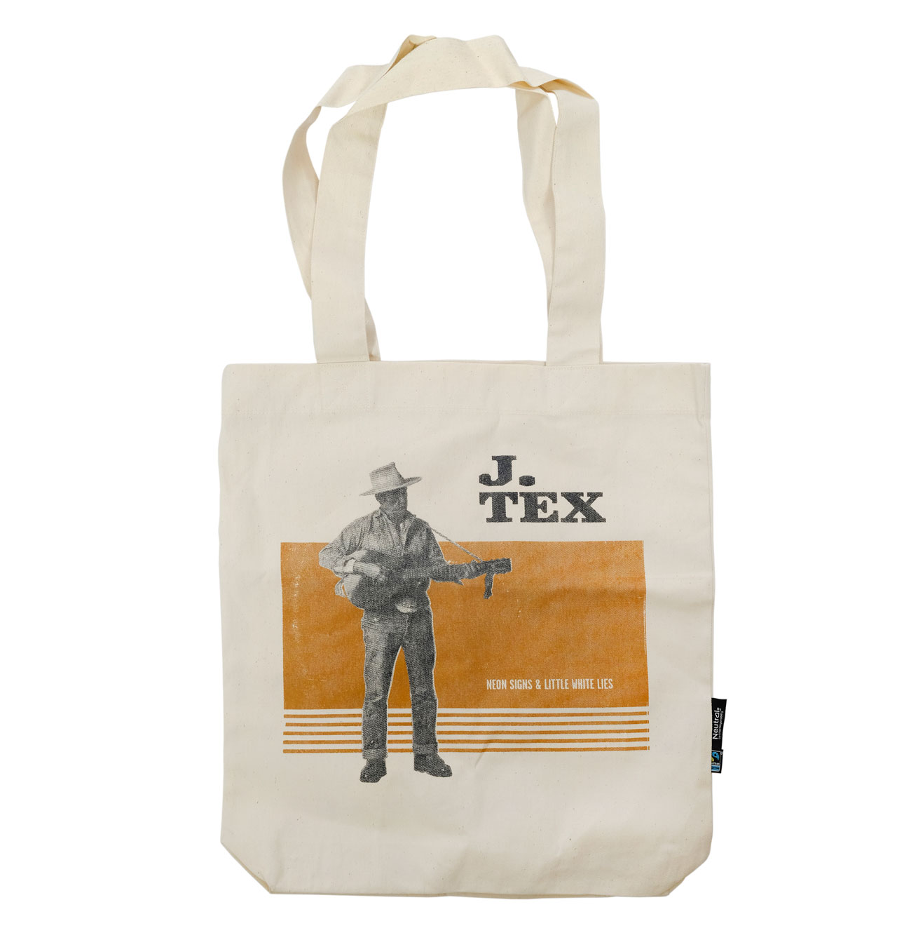 J Tex - Moves Like A Buffalo Tote Bag - Natural