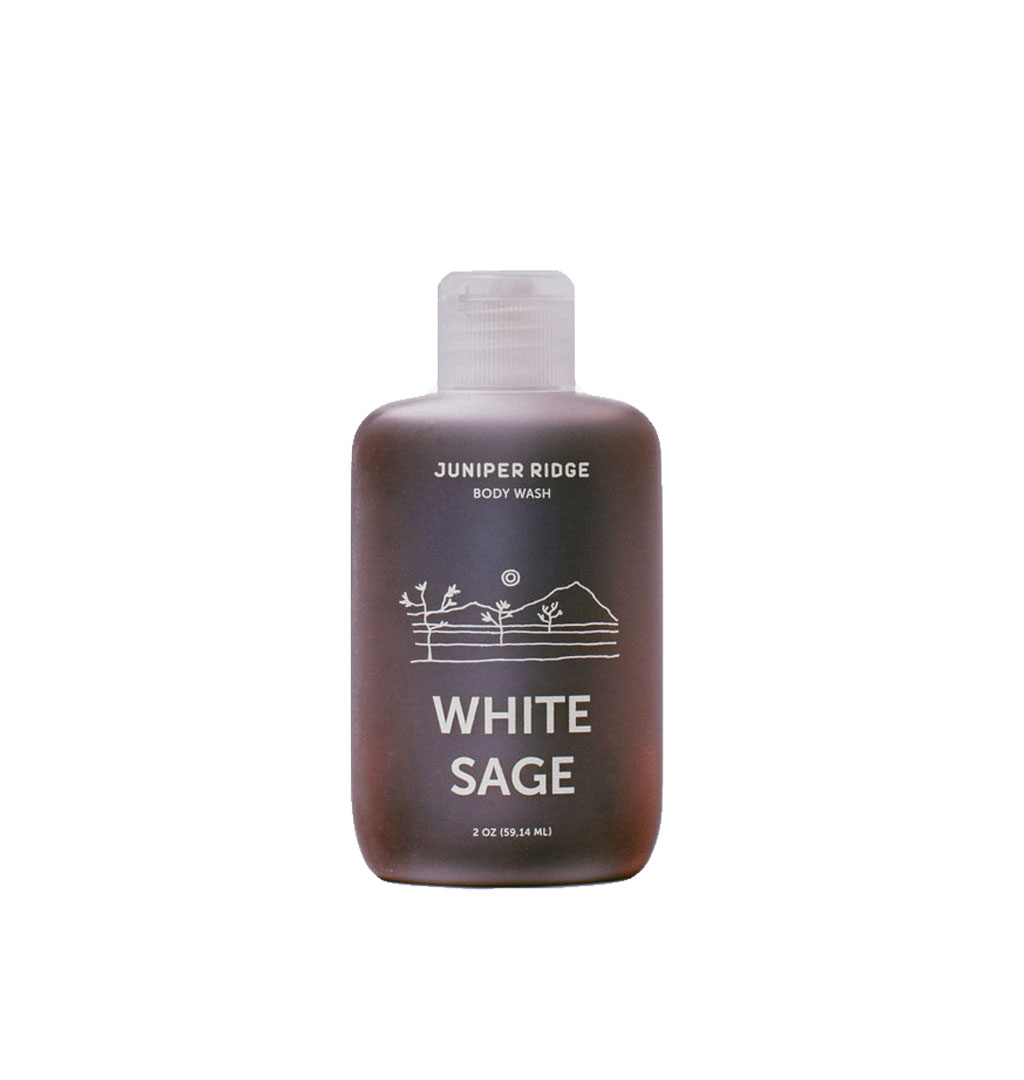 Juniper Ridge - Body Wash White Sage Travel Size - 2 oz