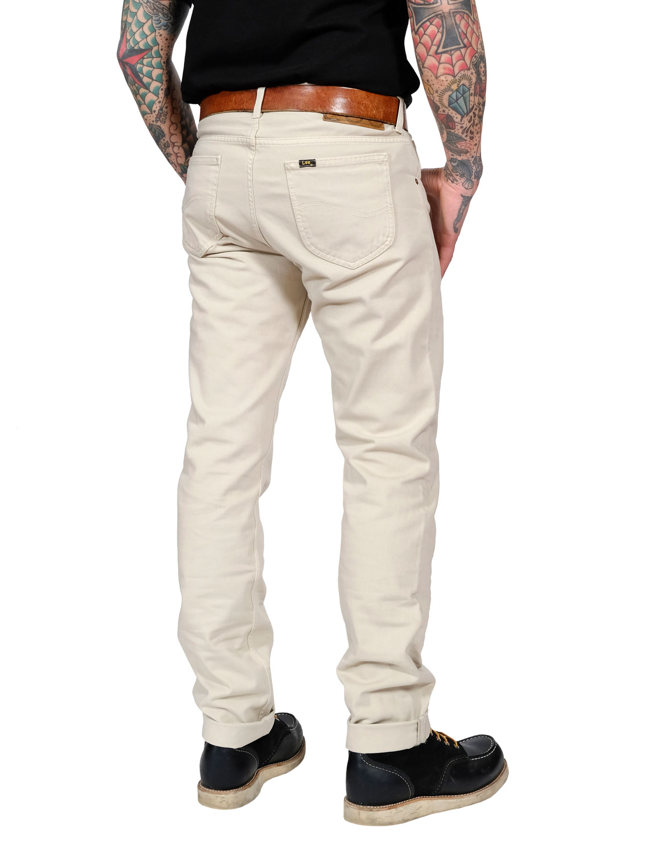 latest fashion detailed look new cheap Lee - 101 Rider Slim Jean - Alabaster Stone