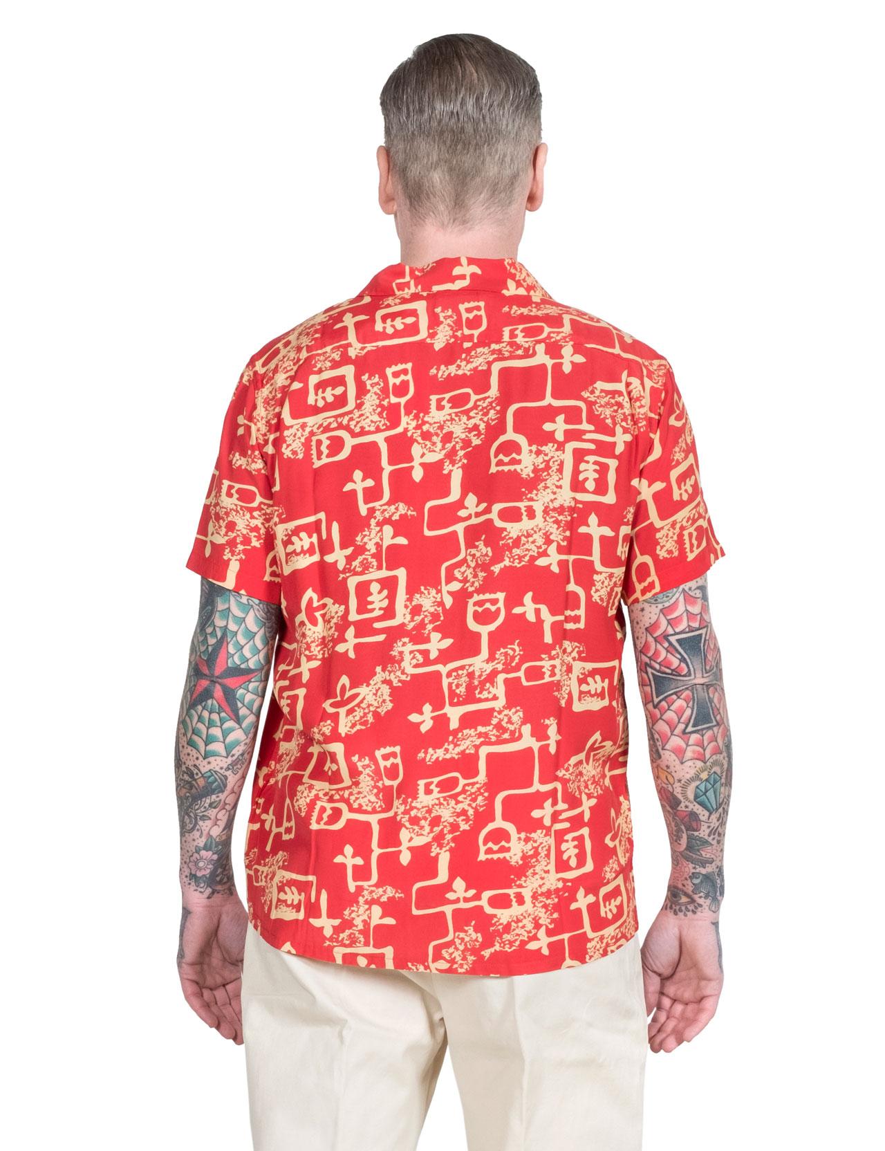 f60abd80 Levi´s Vintage Clothing - 1940´s Hawaiian Shirt - Lark Baked Apple