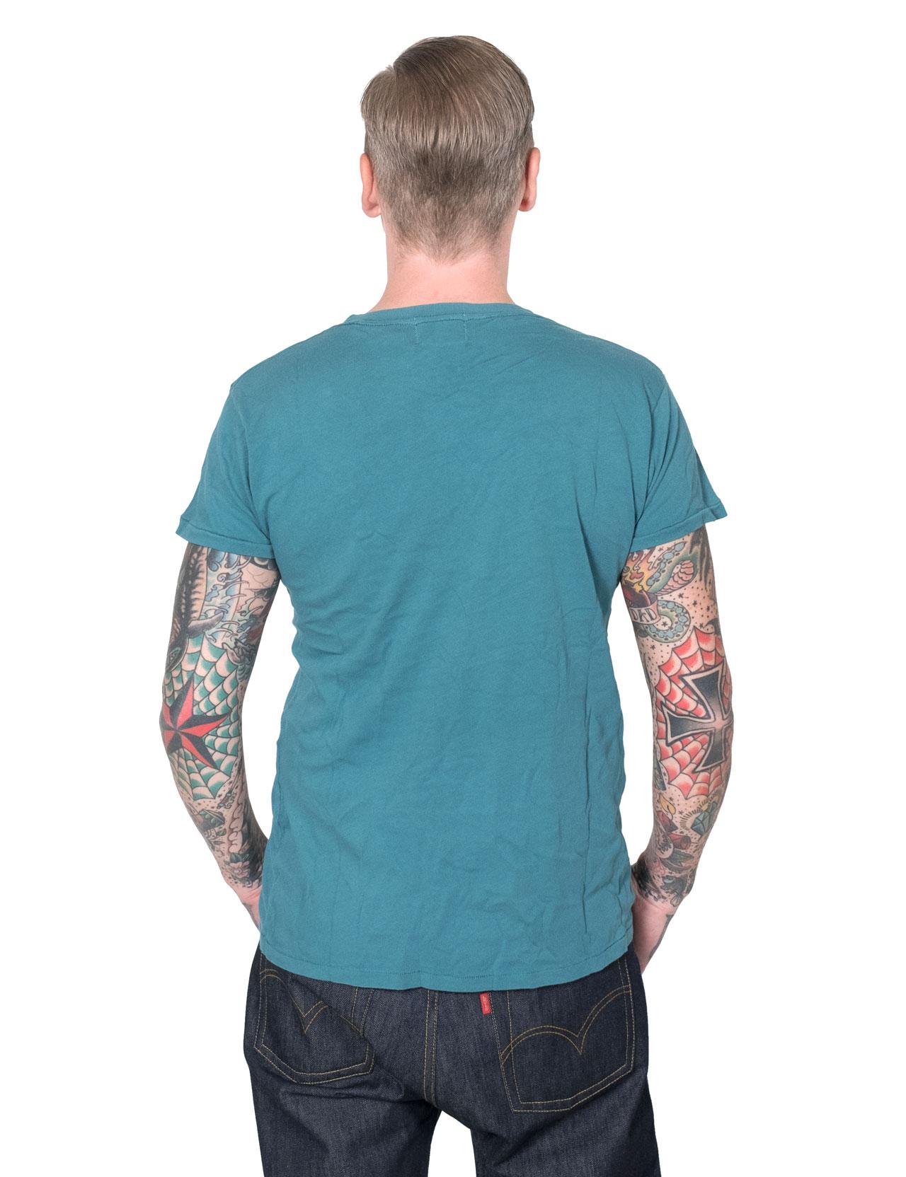 eab01406819 Levi´s Vintage Clothing - 1950´S Sportswear Tee - Tapestry Blue
