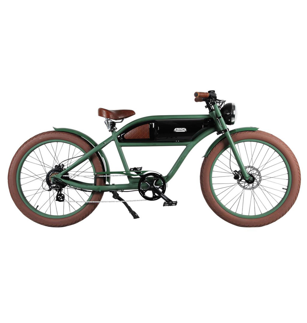 Michael Blast Ebike - GreaseR Electric Bike - Green/Black