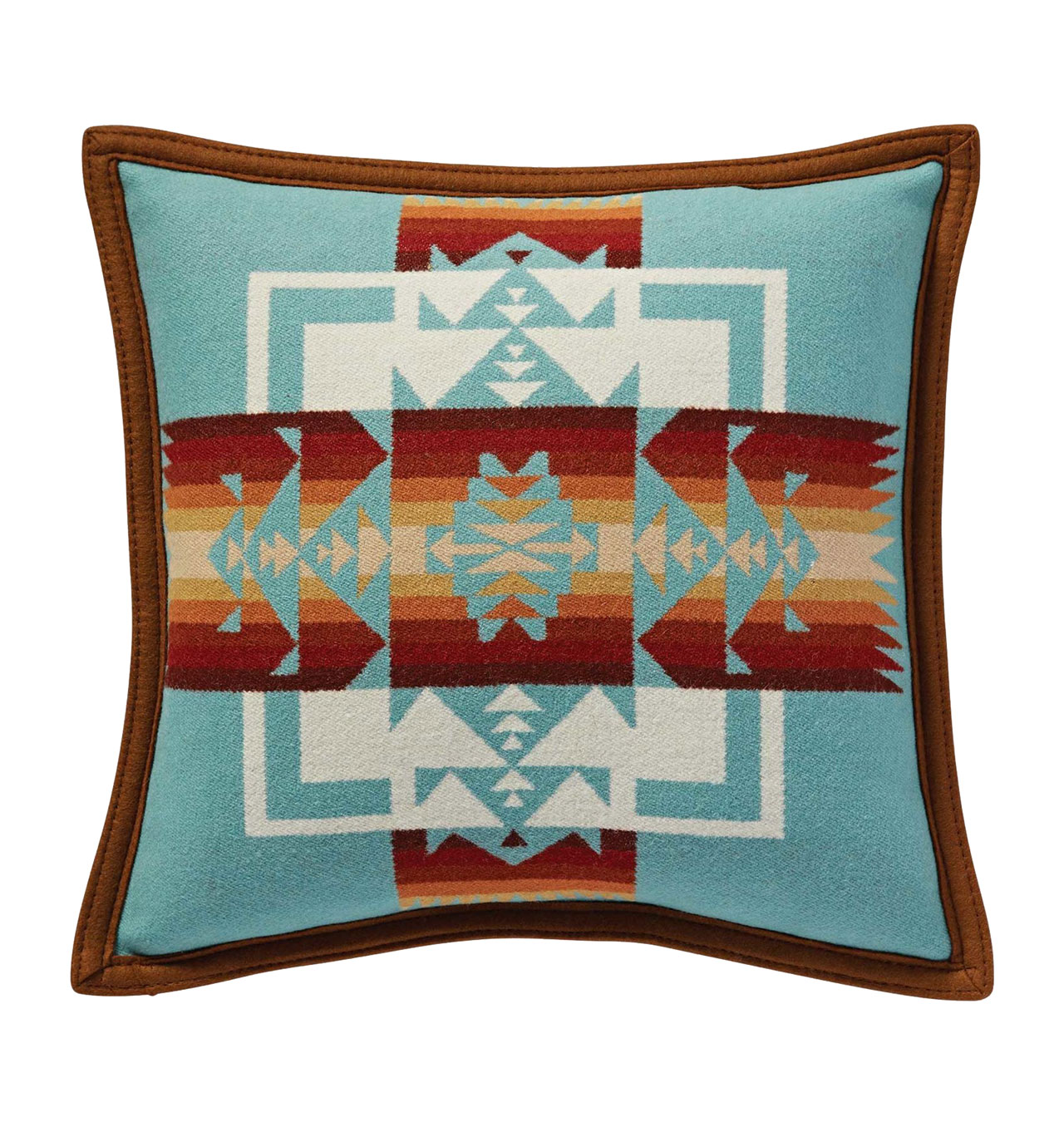Pendelton---Chief-Joseph-Pillow---Aqua