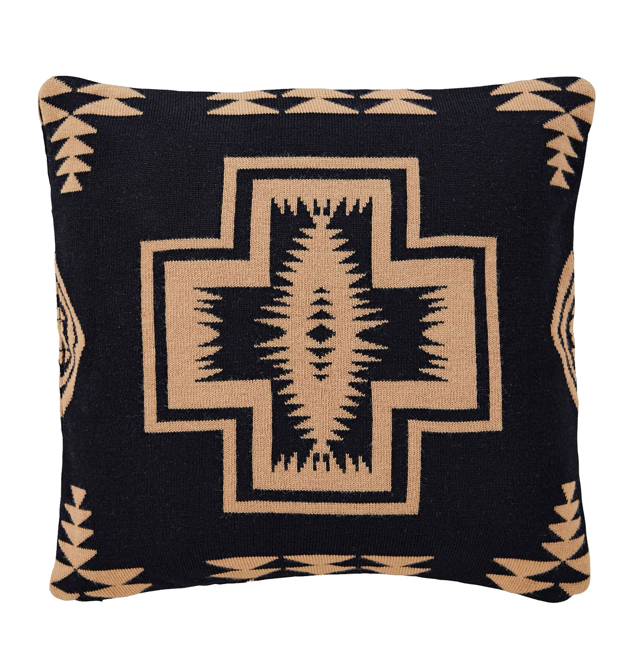 Pendleton---Black-Harding-Knit-Pillow-1