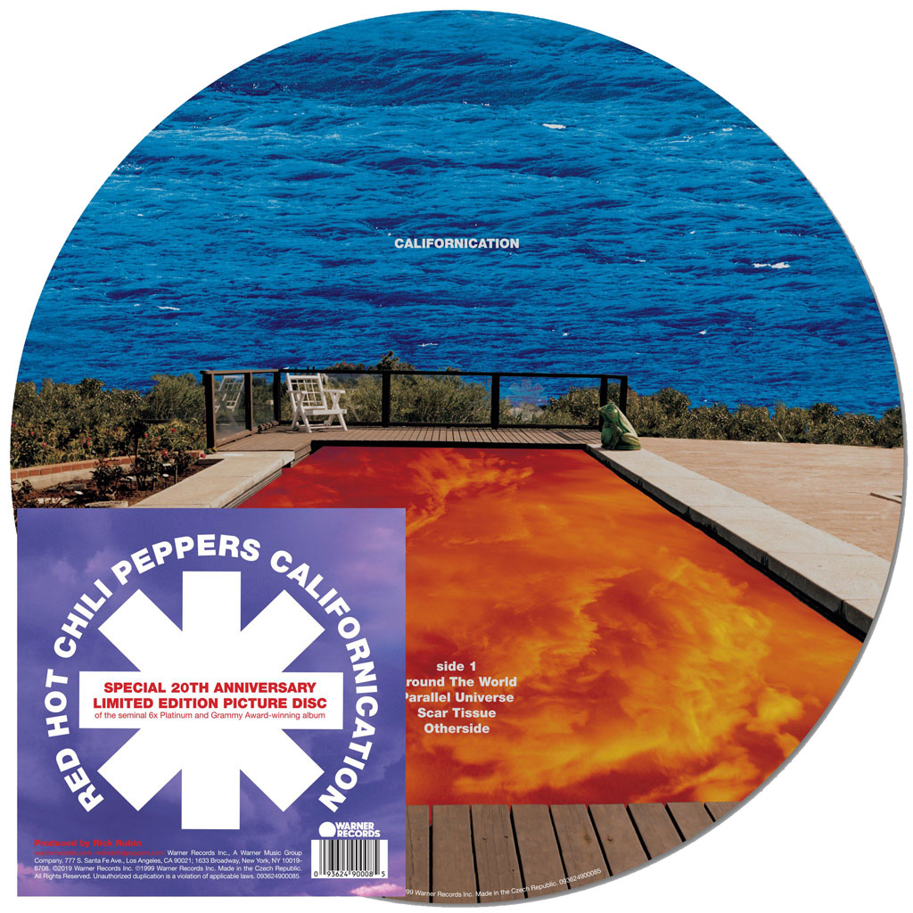 Red Hot Chili Peppers - Californication (Ltd Picture Vinyl 140g) - 2 x LP
