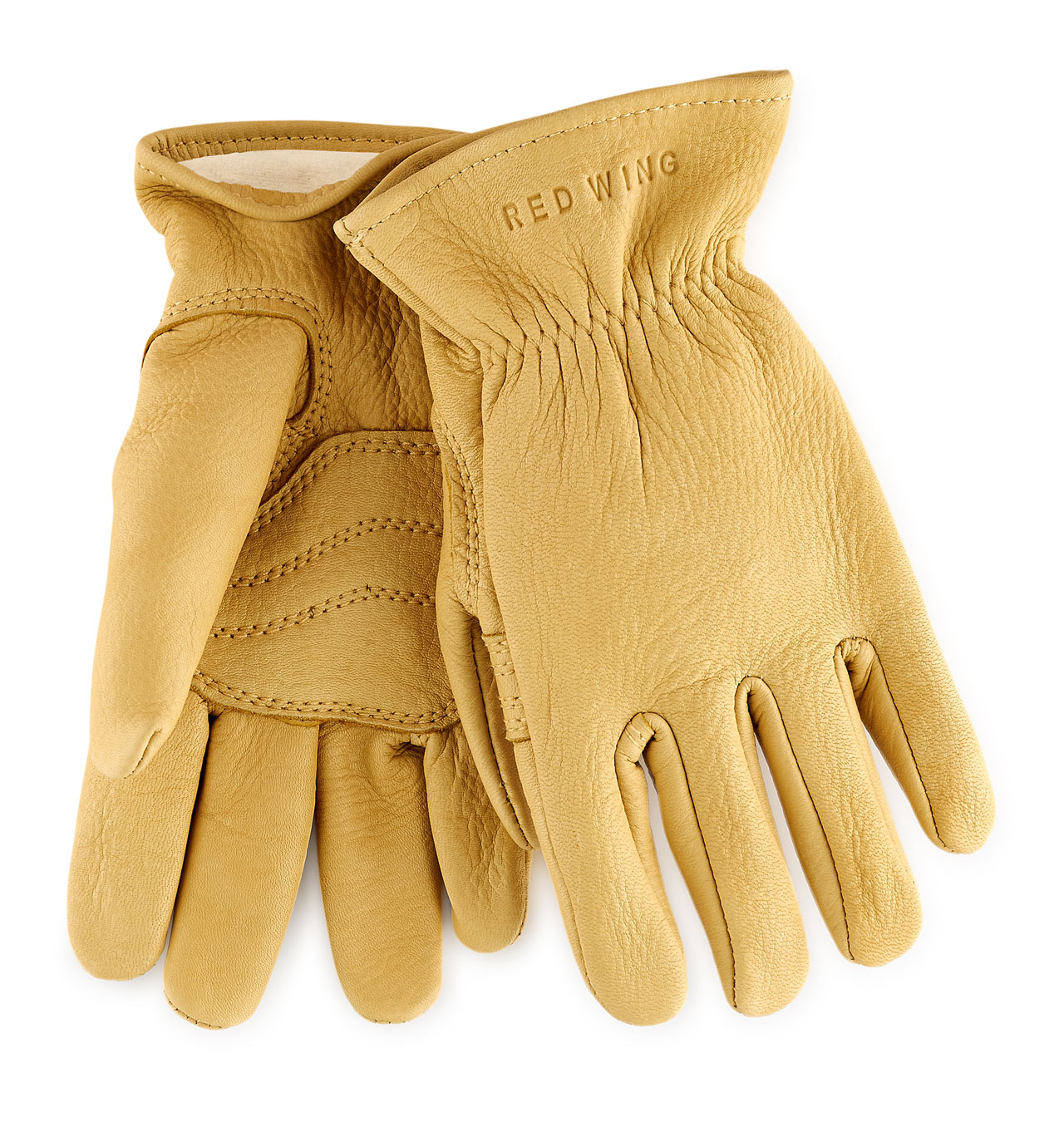 Red Wing - 95237 Buckskin Leather Lined Glove - Yellow