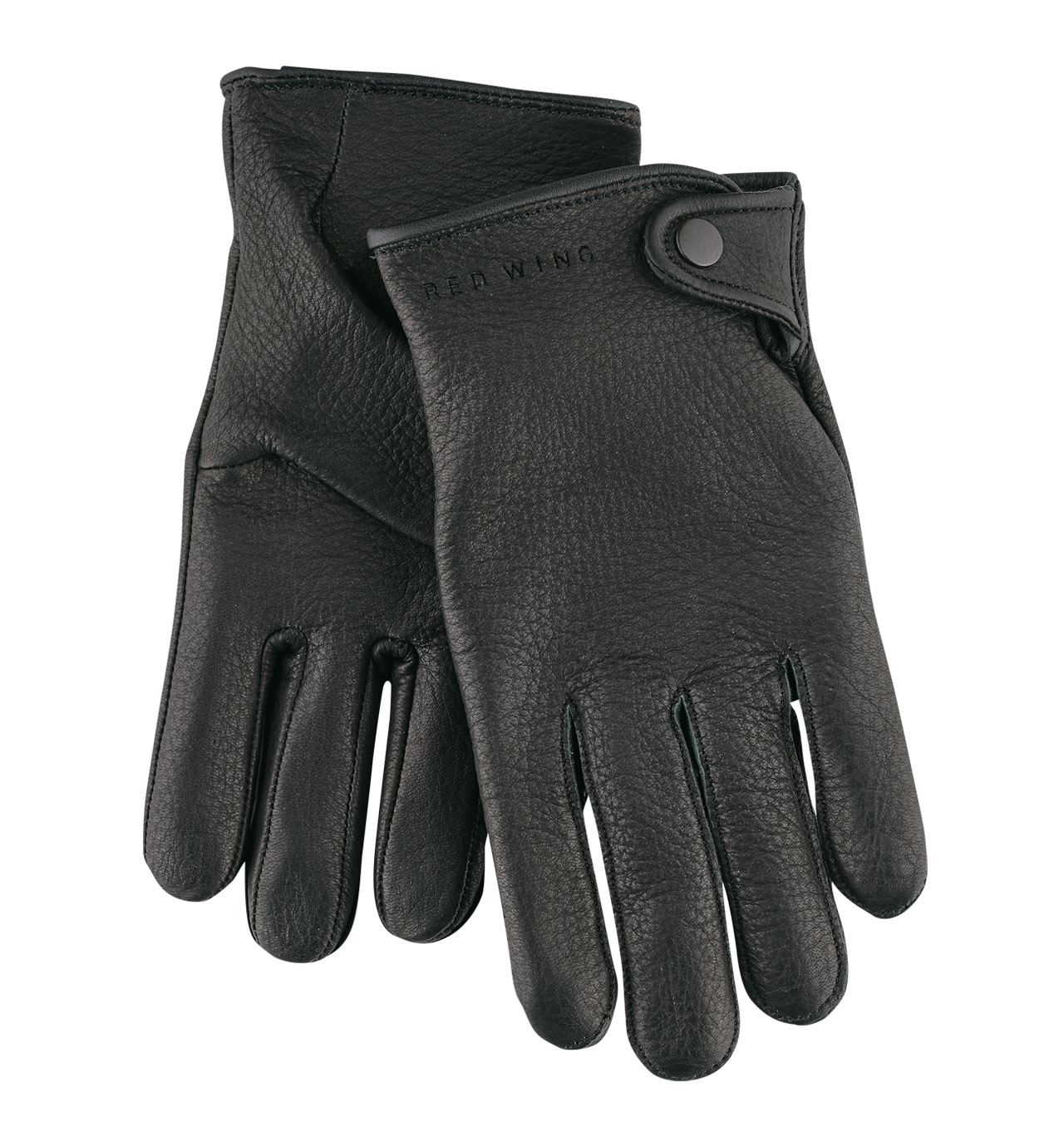 Red Wing - 95238 Driver Glove Unlined Deerskin - Black