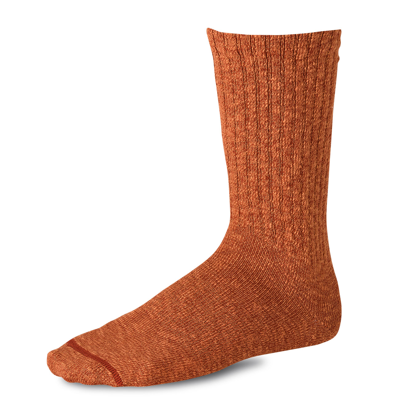 Red Wing - 97371 Cotton Ragg Over Dyed Tonal Sock - Rust/Orange