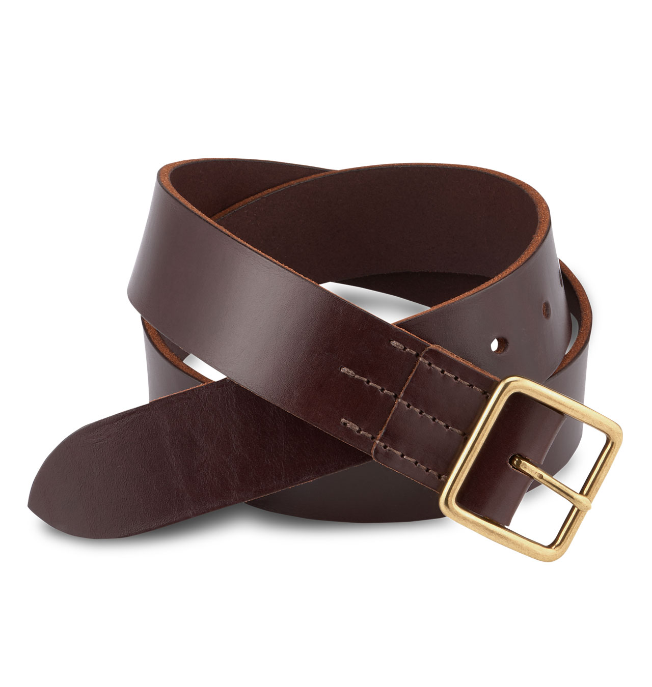 Red Wing - Vegetable Tanned Leather Belt - Dark Brown