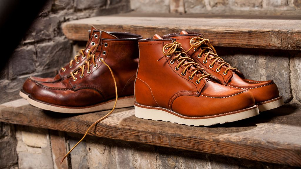 Red Wing Shoes new vs old