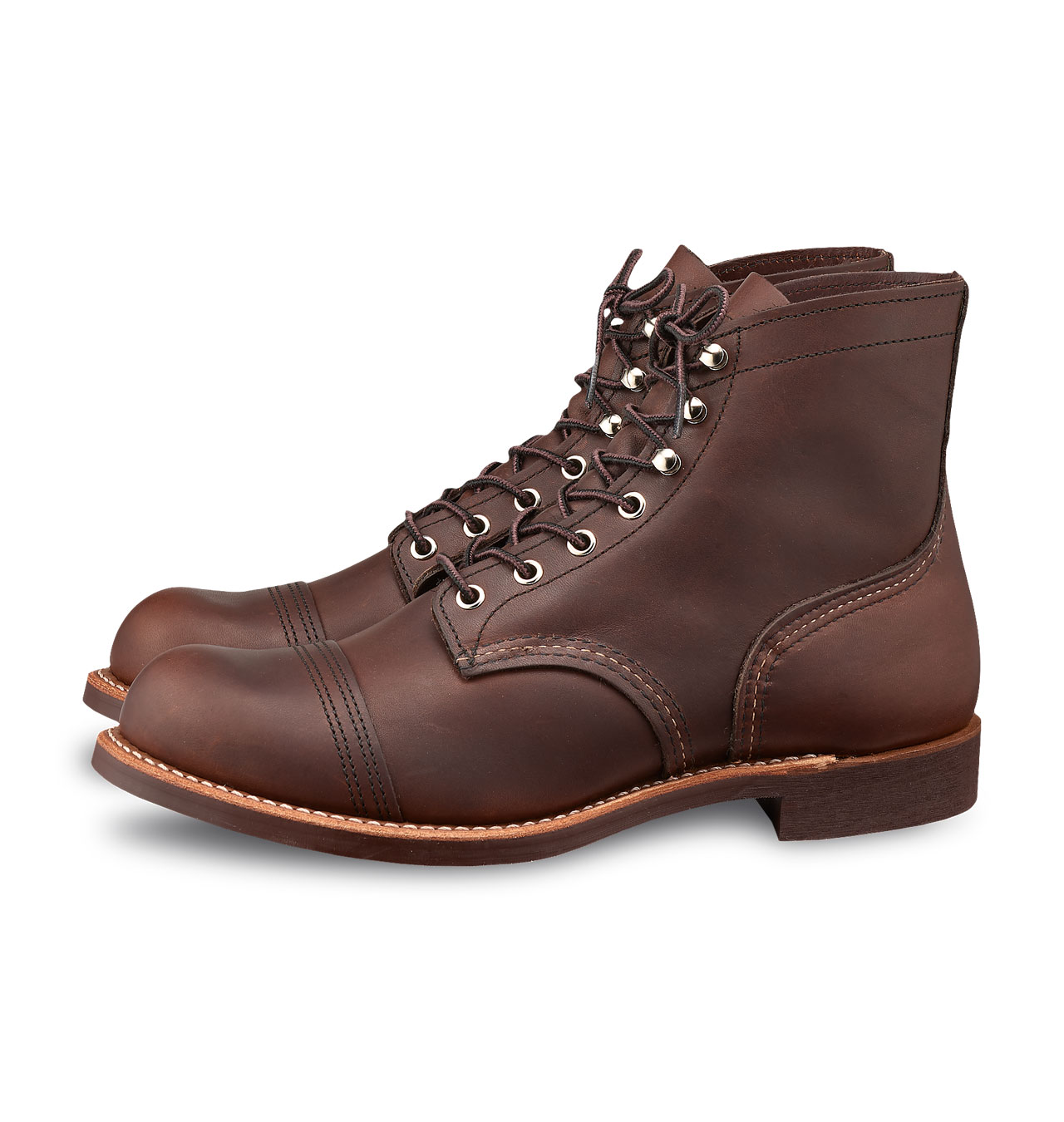 927180cad5 Red Wing Shoes 8111 Iron Ranger - Amber Harness