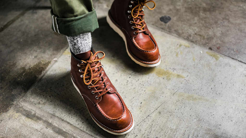 Red Wing Shoes 87519 Moc Toe