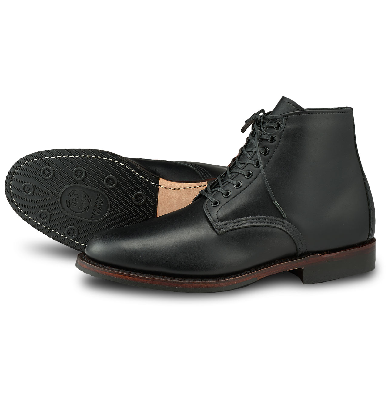Red Wing Shoes 9436 Williston 6-inch - Black Featherstone