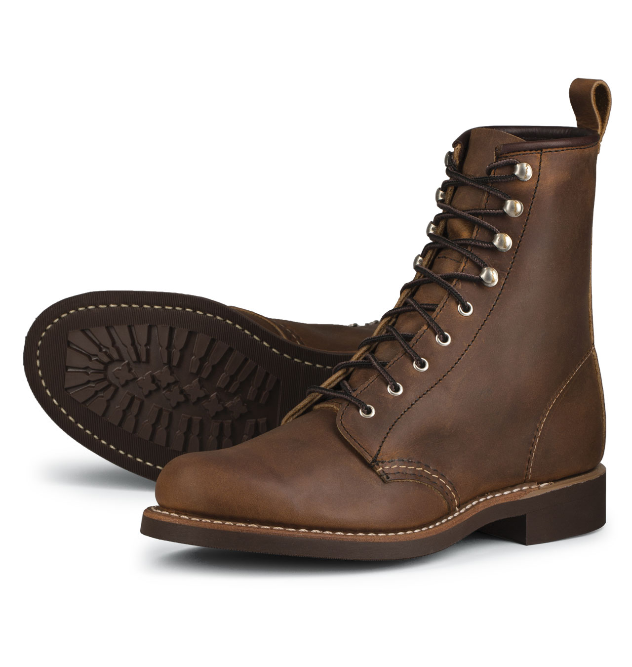 Red Wing Shoes Woman 3362 Silversmith - Copper Rough & Tough