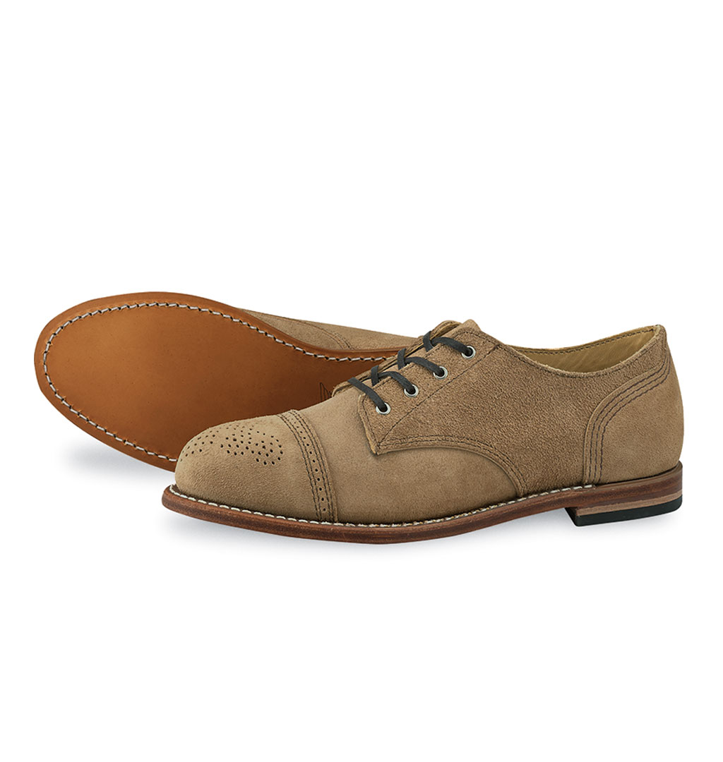 Red Wing Shoes Woman 3437 Hazel Oxfords - Sand Mohave