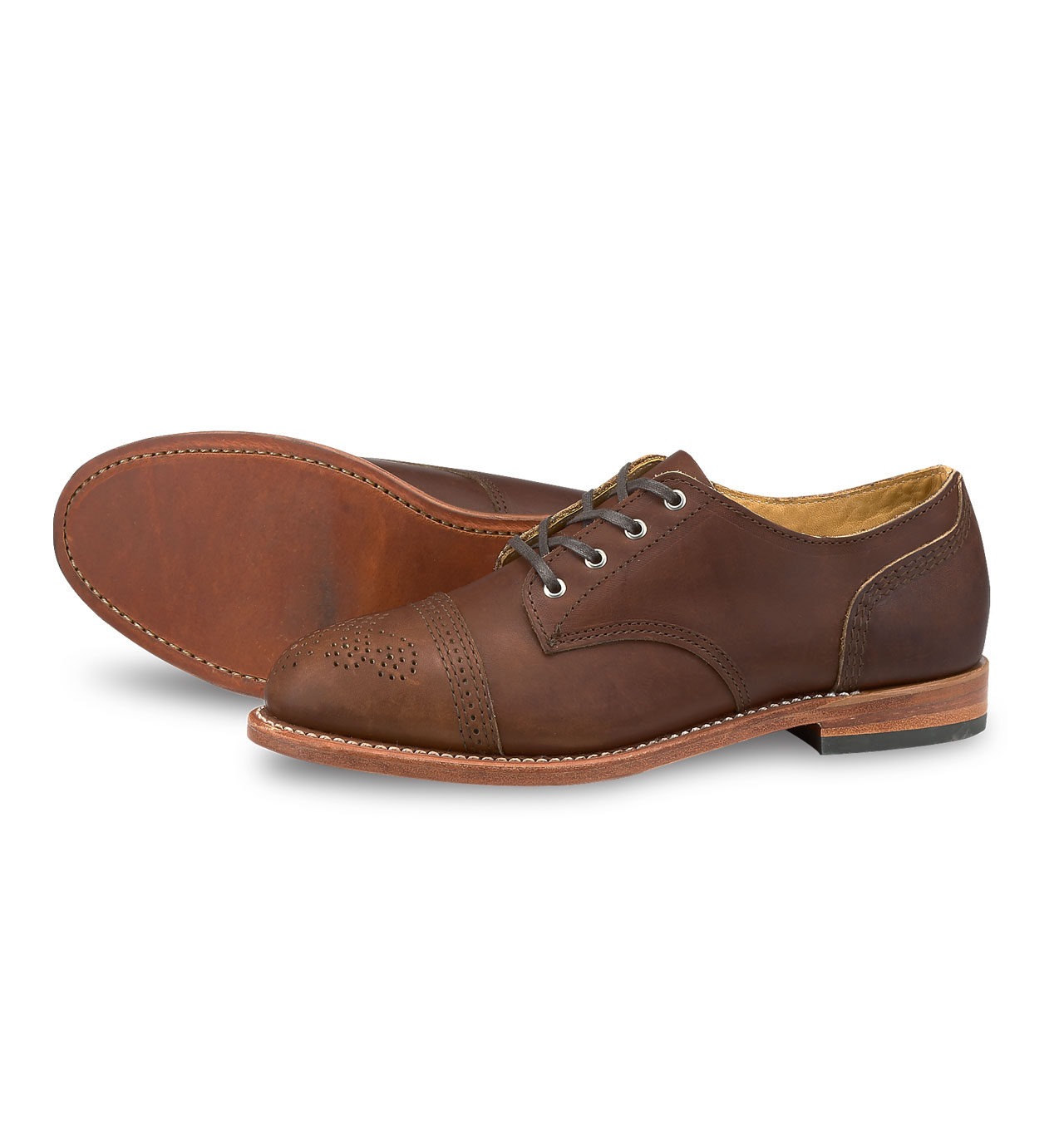 Red Wing Shoes Woman 3436 Hazel Oxfords - Amber Harness