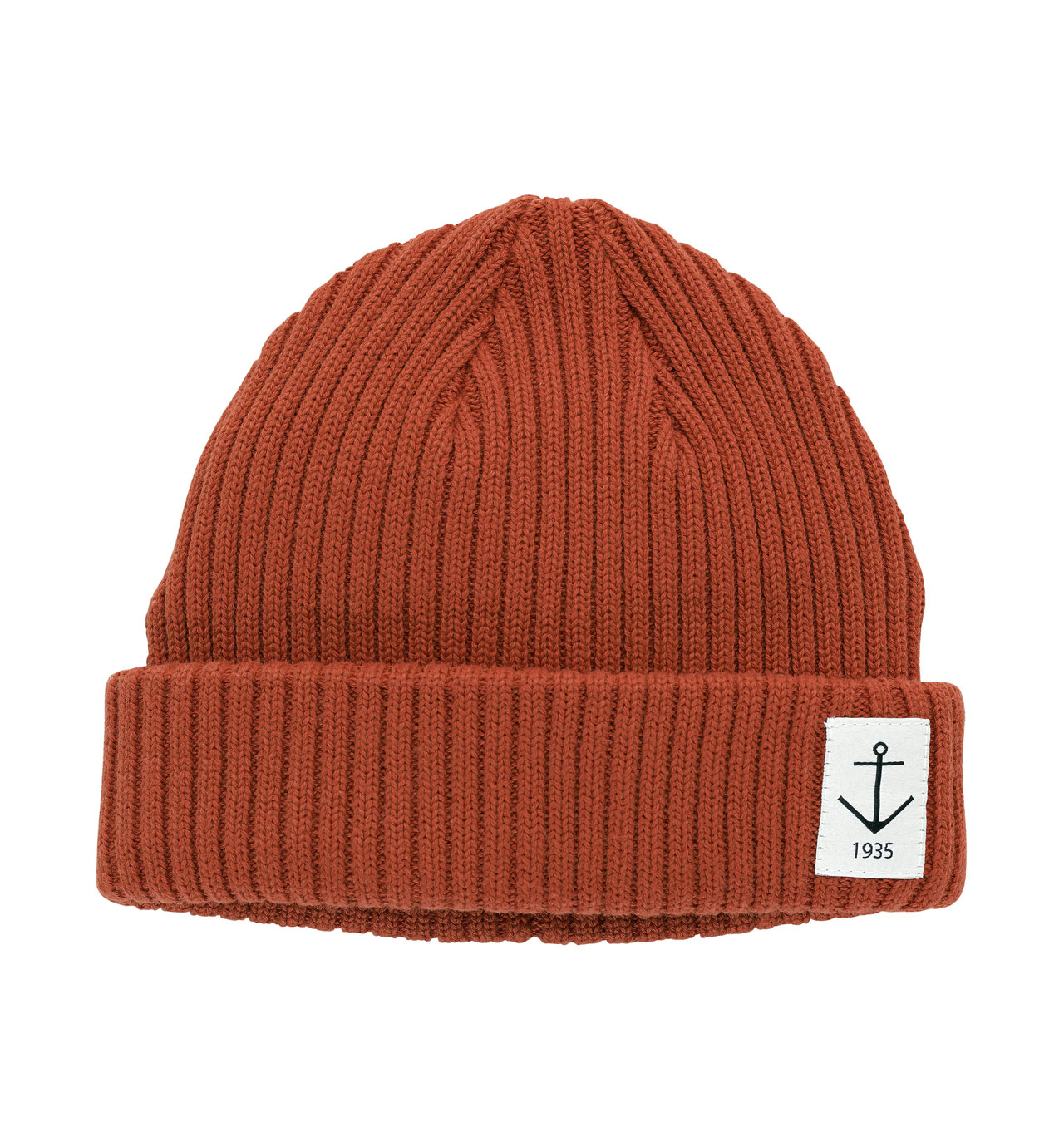 Resteröds - Smula Anchor Beanie - Cuban Red