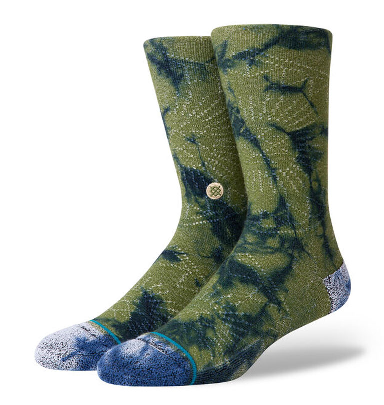 Stance---Monte-Claro-Butter-Blend-Socks-Green