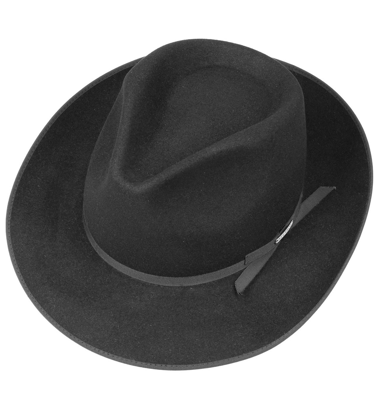345d5c80f4ad2 Stetson - Stratoliner Fedora Fur Felt Hat - Black