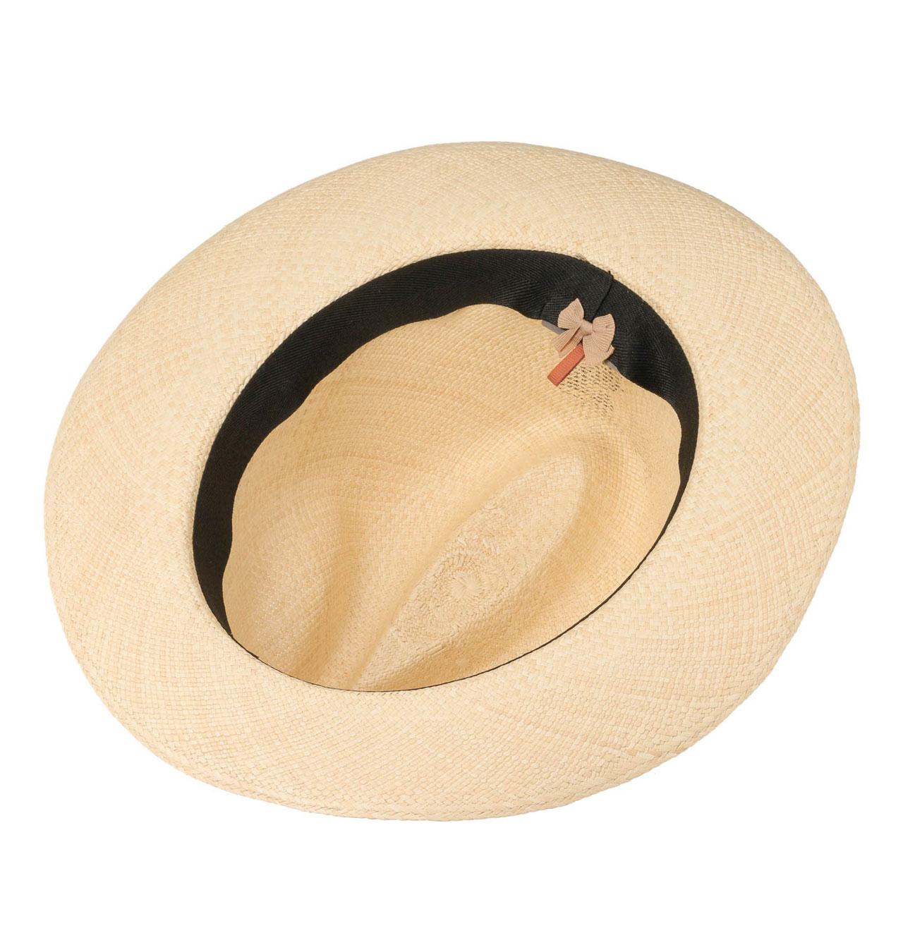 b123725a72d3 Stetson - Valmora Fedora Panama Hat - Natural