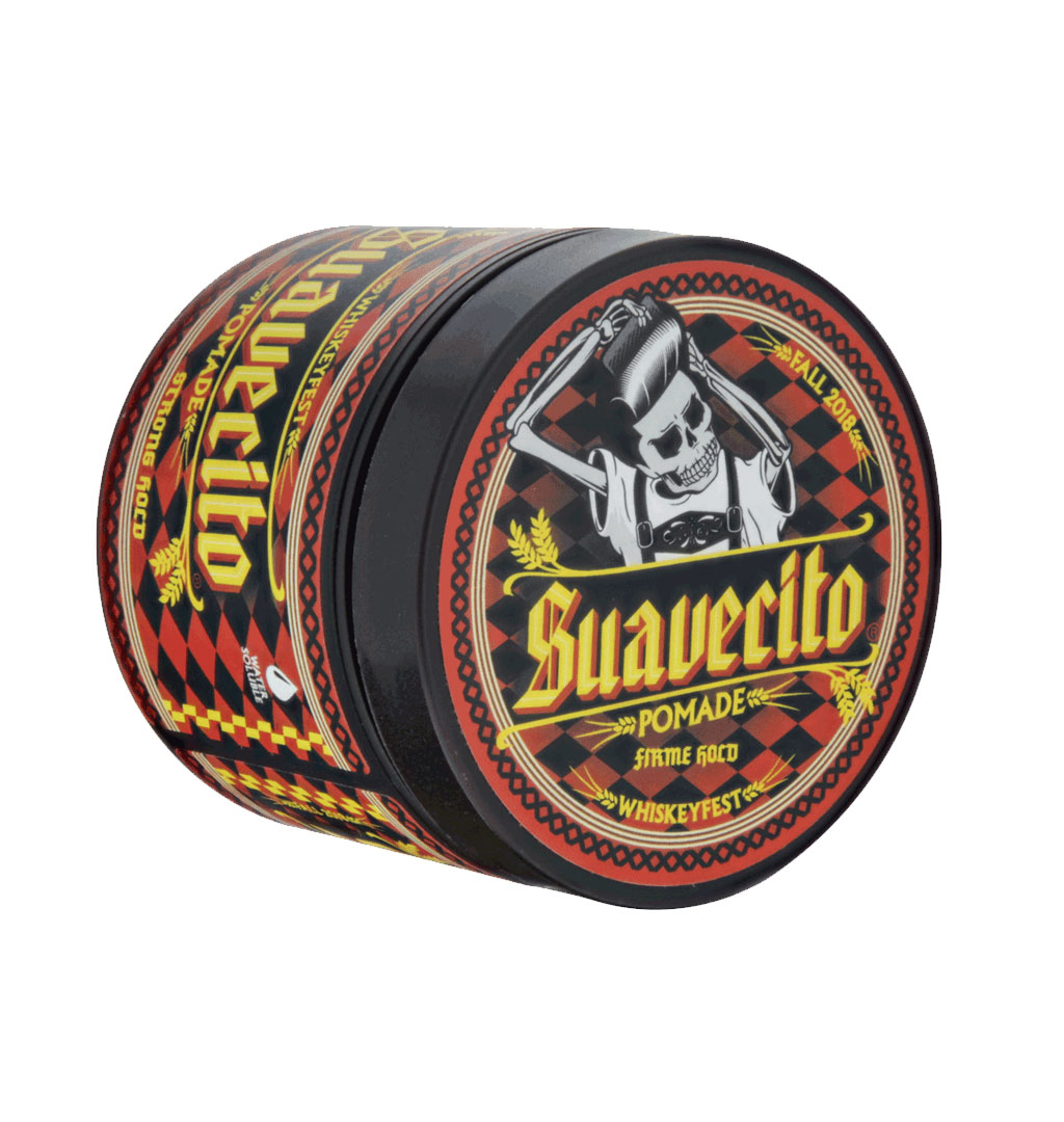 Suavecito - Firme Hold Fall 2018 Whiskeyfest Pomade 4oz