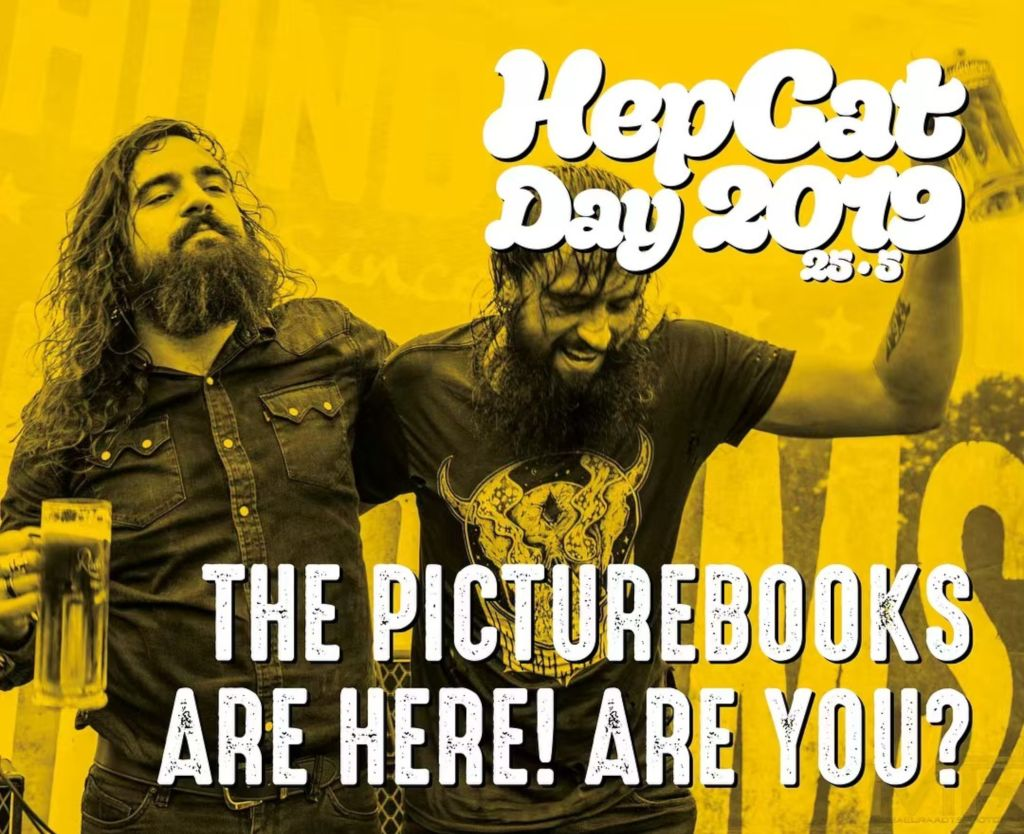 The Picturebooks at HepCat Day 2019