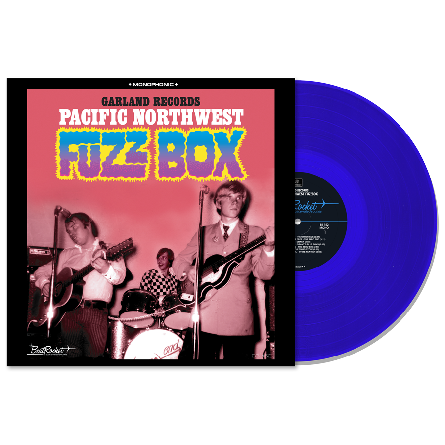 Various - Garland Records Pacific Northwest Fuzz Box (Blue) - LP