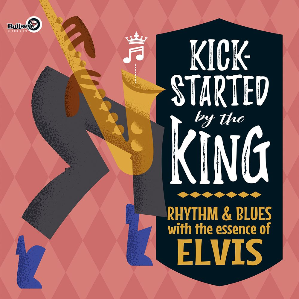 Various - Kick-Started By The King - LP