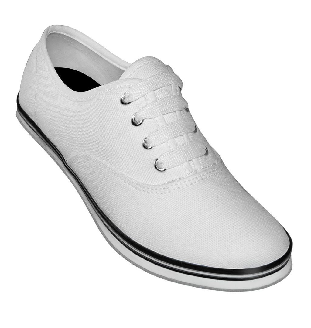 Aris Allen - Canvas Dancing Sneakers - White (8209)