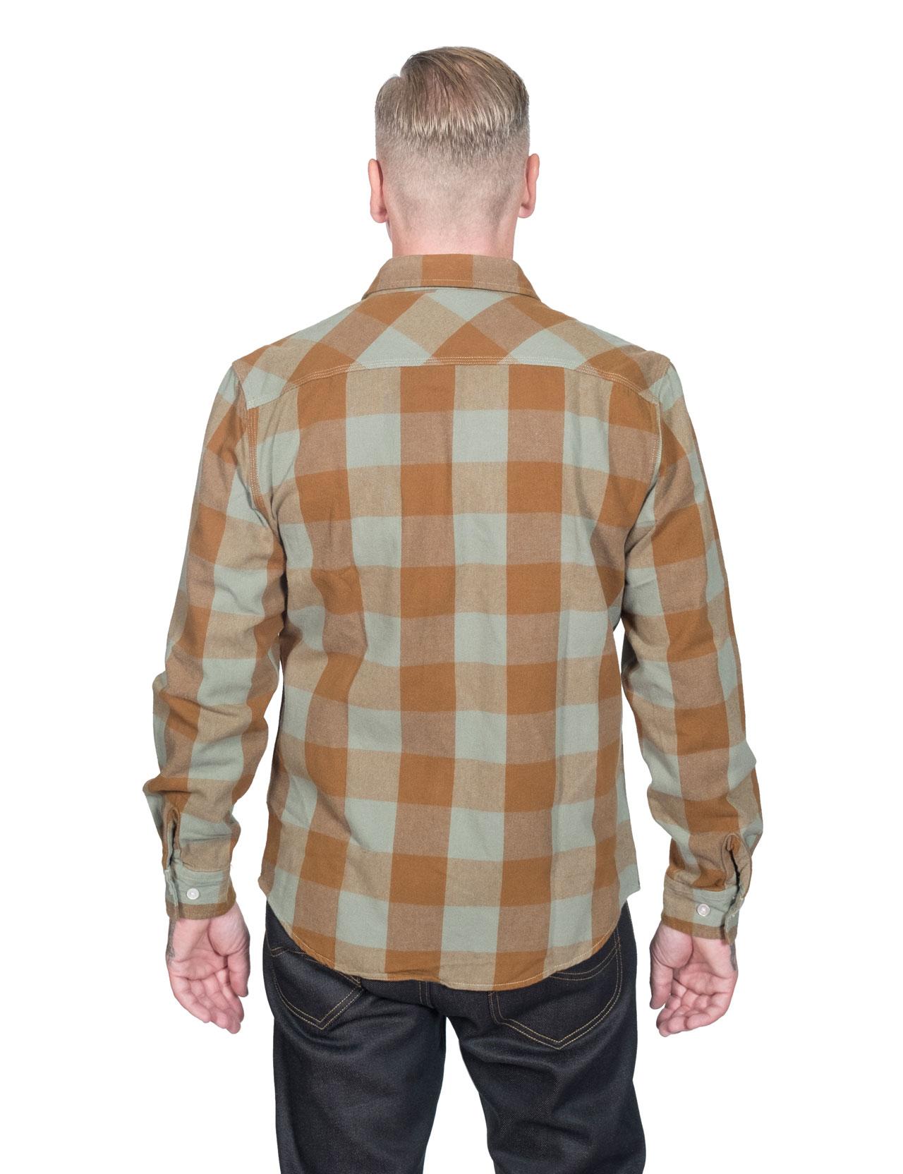 9e9f9490f31e Brixton - Bowery Flannel Shirt - Green Bay
