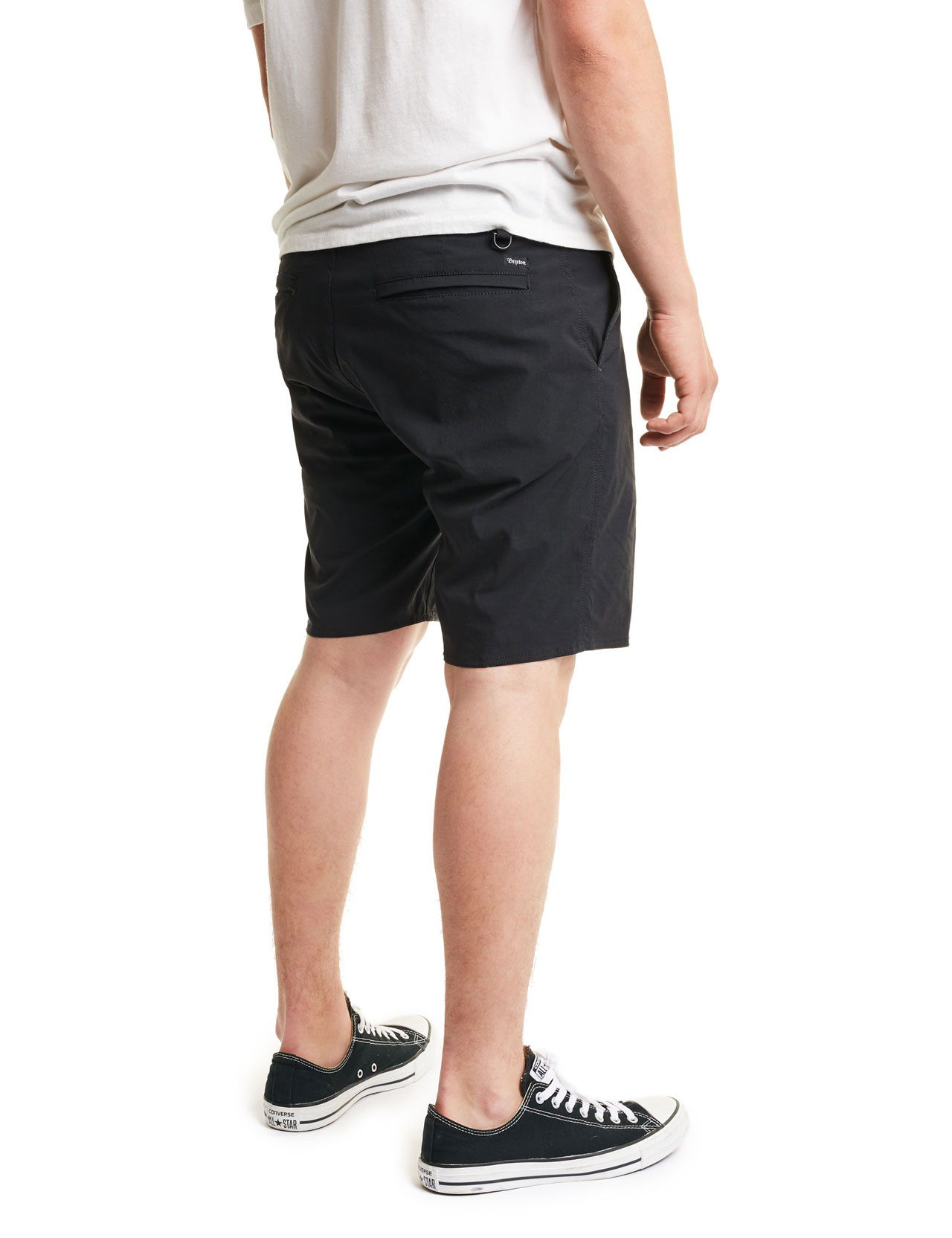Brixton - Toil II AT Shorts - Black 53d6c16da05