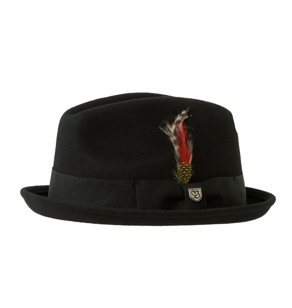 Brixton - Gain Fedora Hat - Black