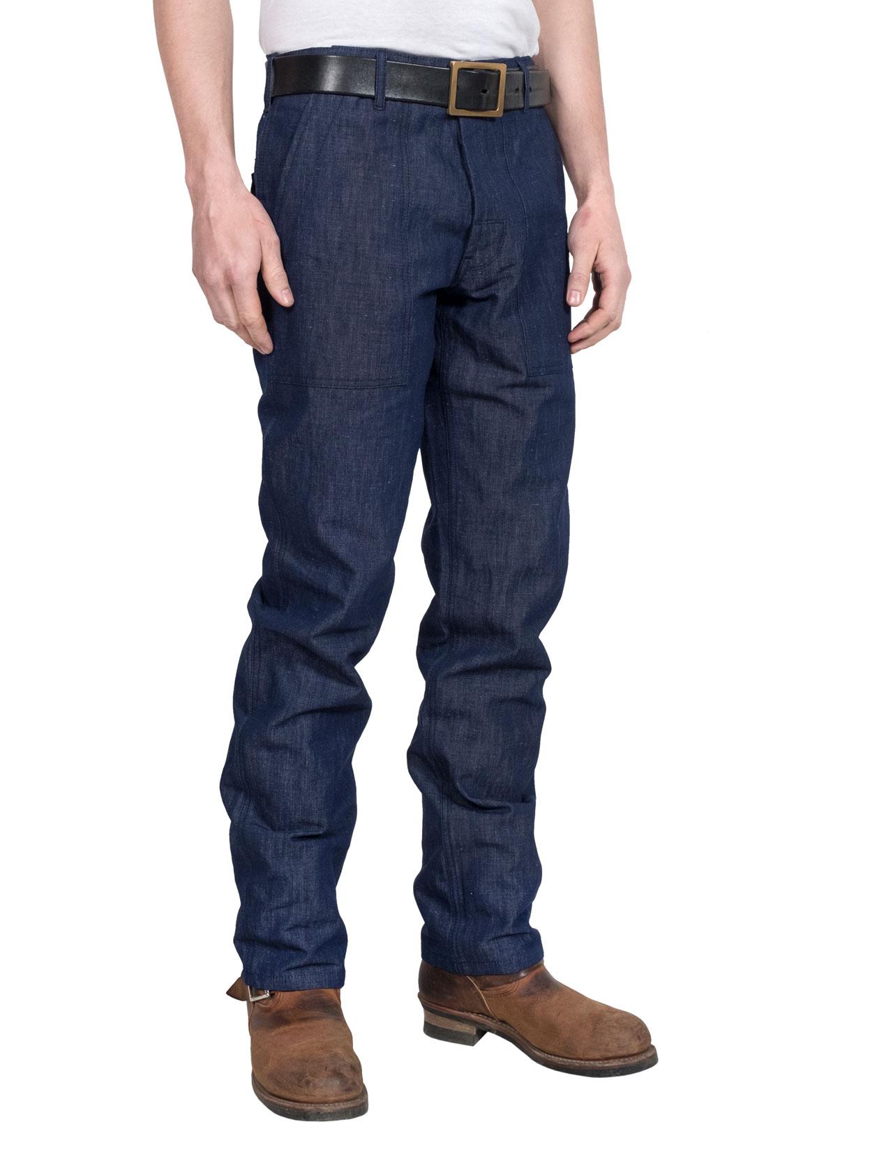 Eat Dust - Nautic Fatigue Azalea Pants - Indigo Blue 8d4d217a99e