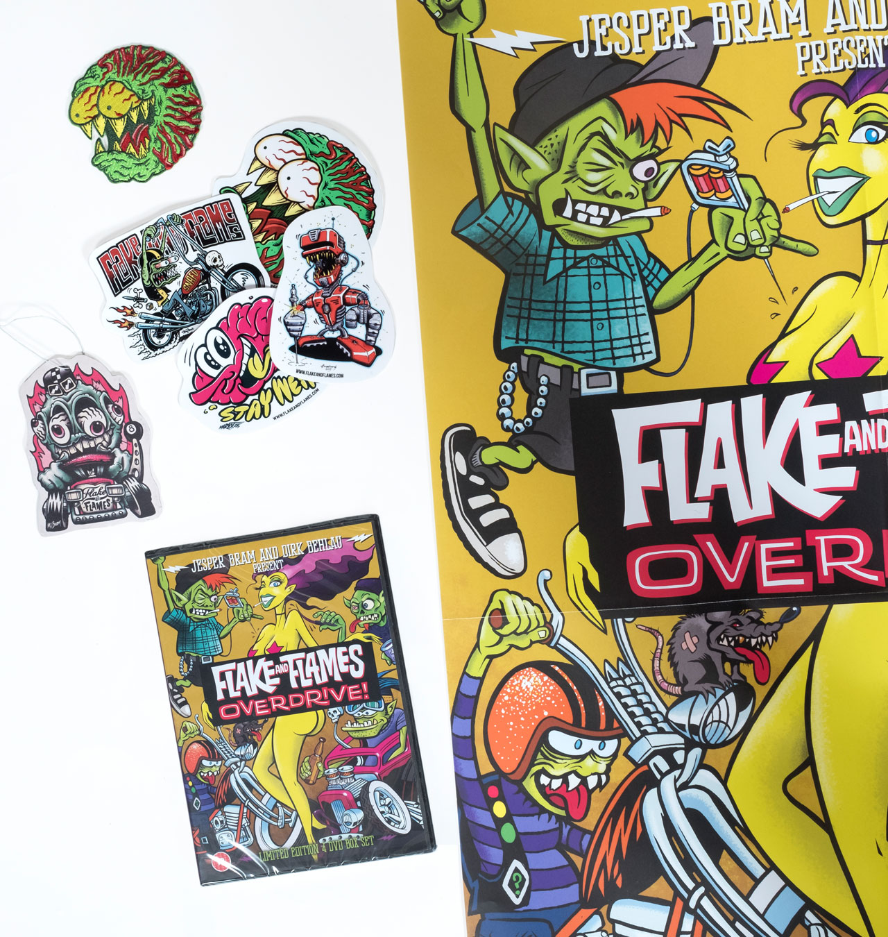 Flake & Flames - Overdrive Maximum Launch Pack