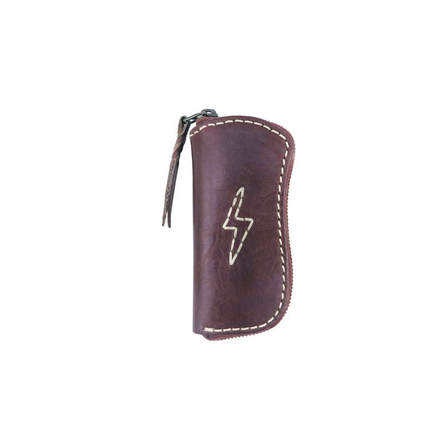 Flying Zacchinis - Amor Fati Coin Case - Brown