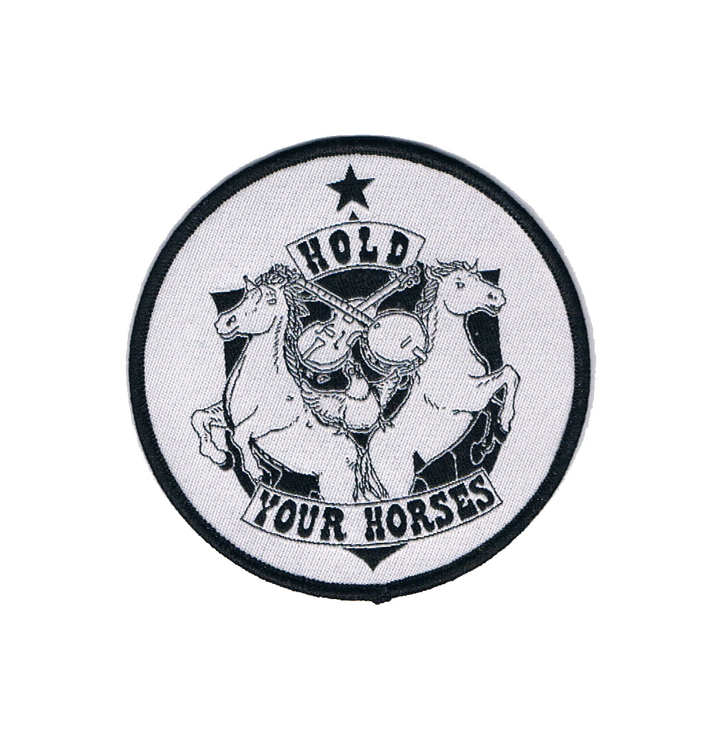 Hold Your Horses - Logo Patch
