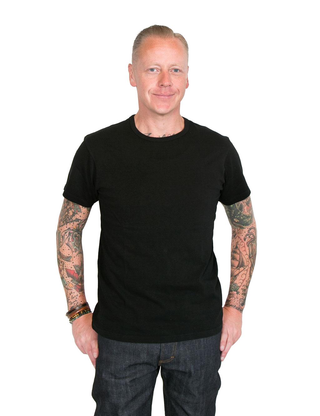 White t shirt company - Lady White Co Our Black T Shirt Black