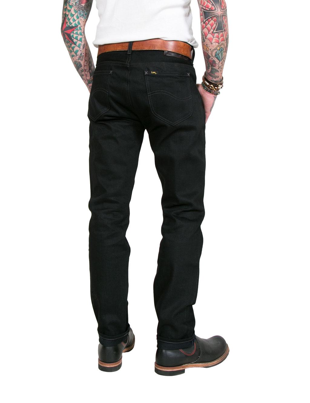 Black Black Black Jeans Slim Dry 13oz Rider Lee 101 101 101 101 Fit qRAYYw