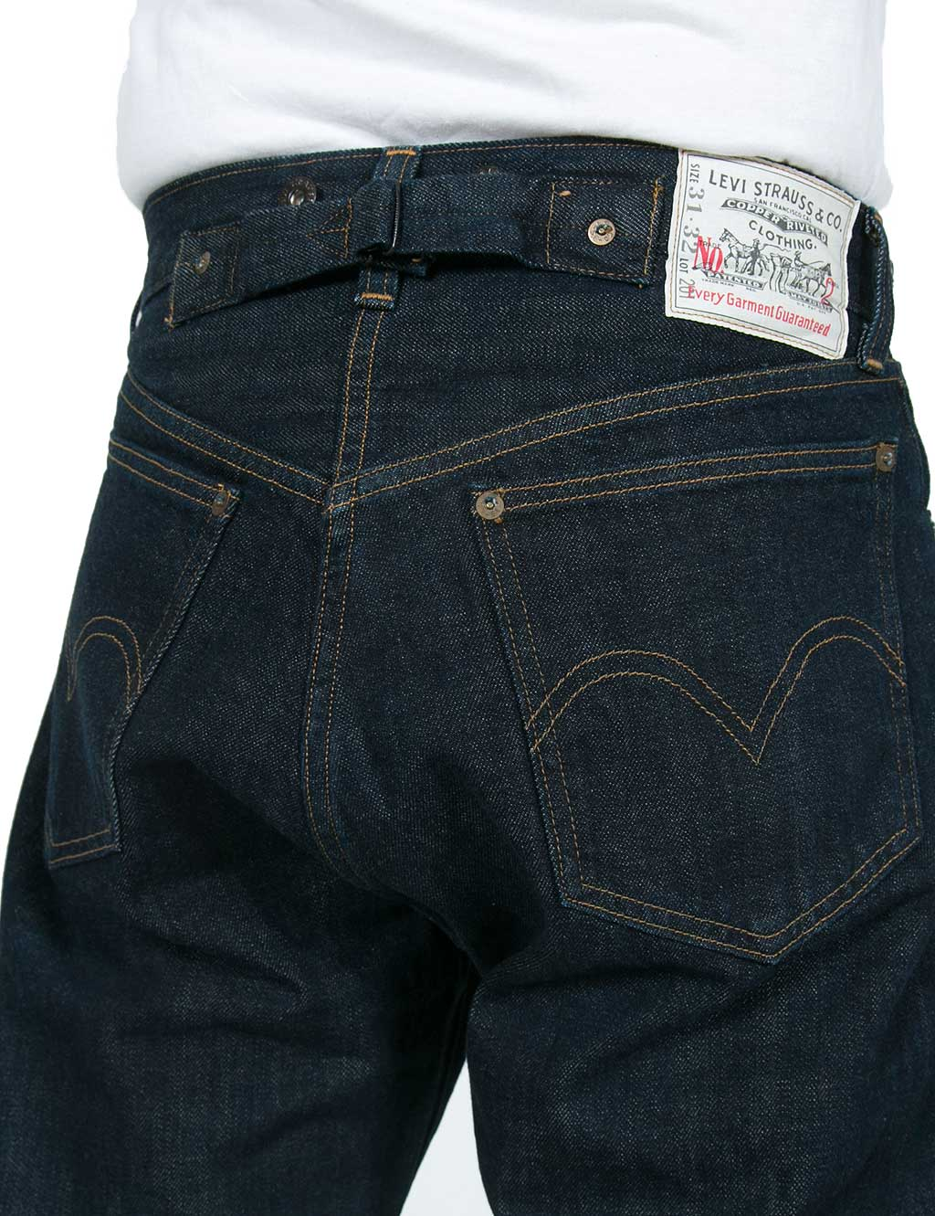 Jeans Levi´s Vintage Selvage Rinsed 201 Clothing 1920´s w1AqI16