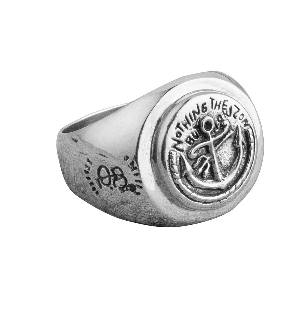 O.P Jewellery - Sailor´s Signet Ring - Silver