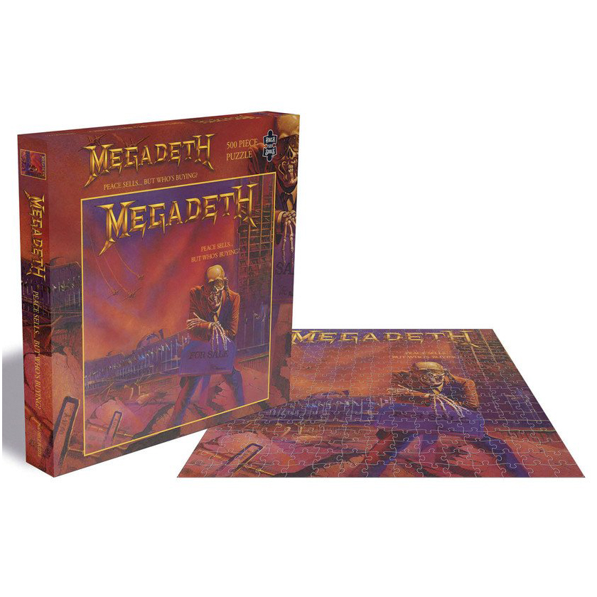 Megadeth - Peace Sells... But Who´s Buying? (500 Pieces) - Puzzle