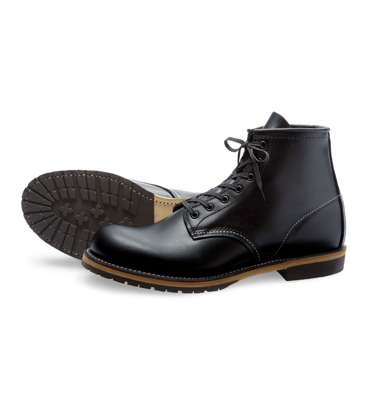 Red Wing Shoes 9014 Beckman - Black Featherstone