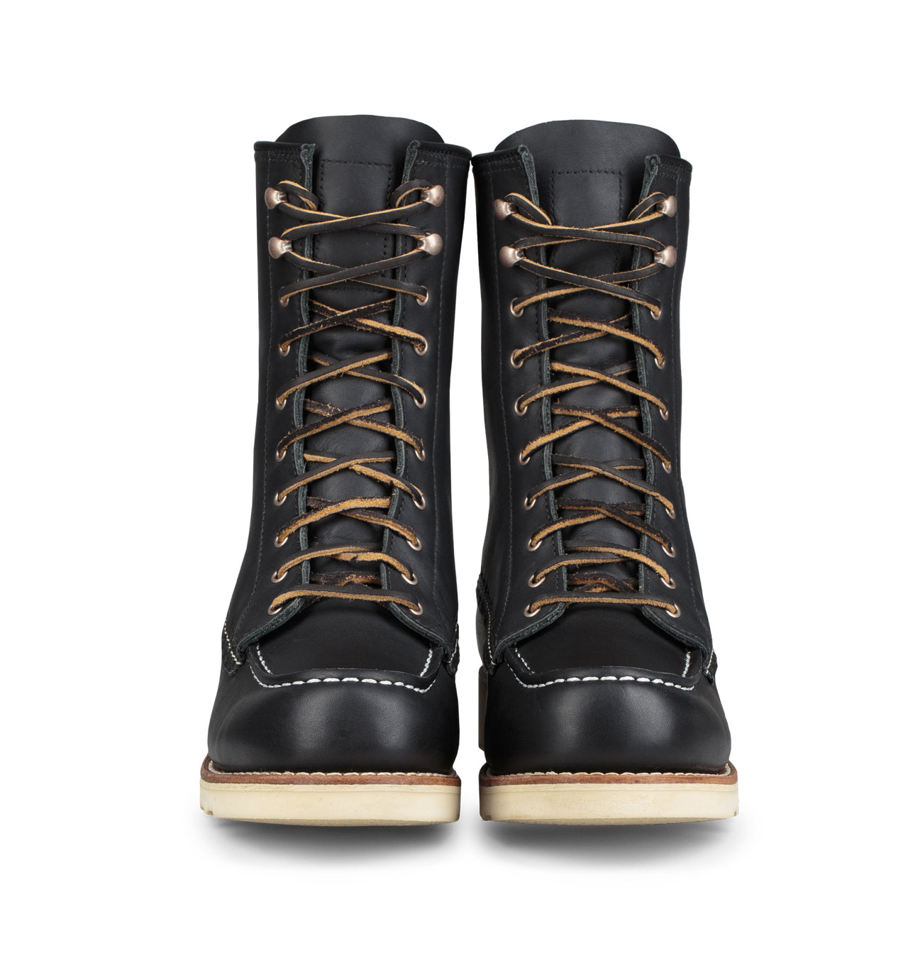 d373da92bfa Red Wing Shoes Woman Style No 3424 8-inch Moc Toe - Black Boundary Leather