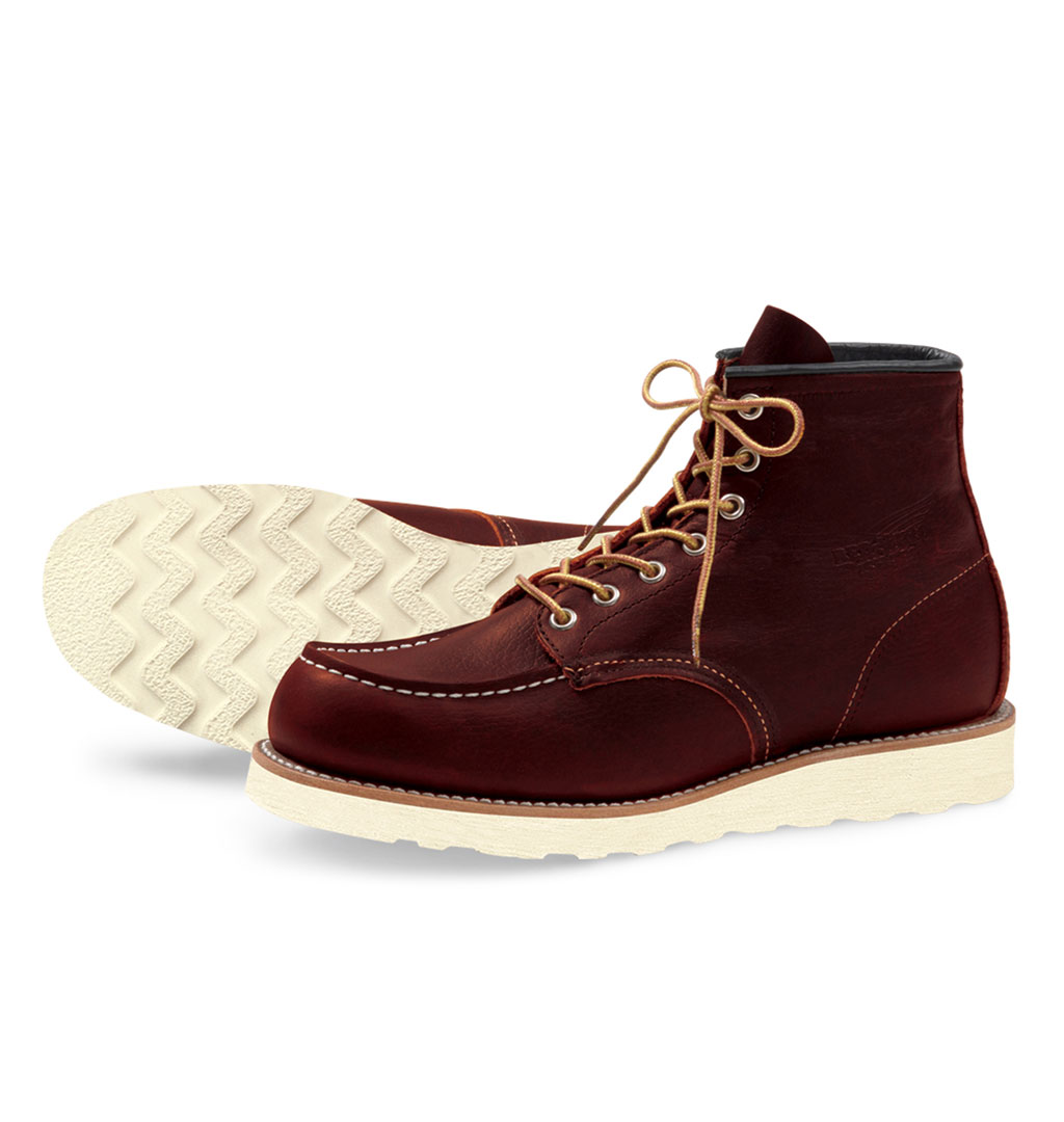 Red Wing Shoes 8138 6´ Classic Moc Toe - Dark Brown