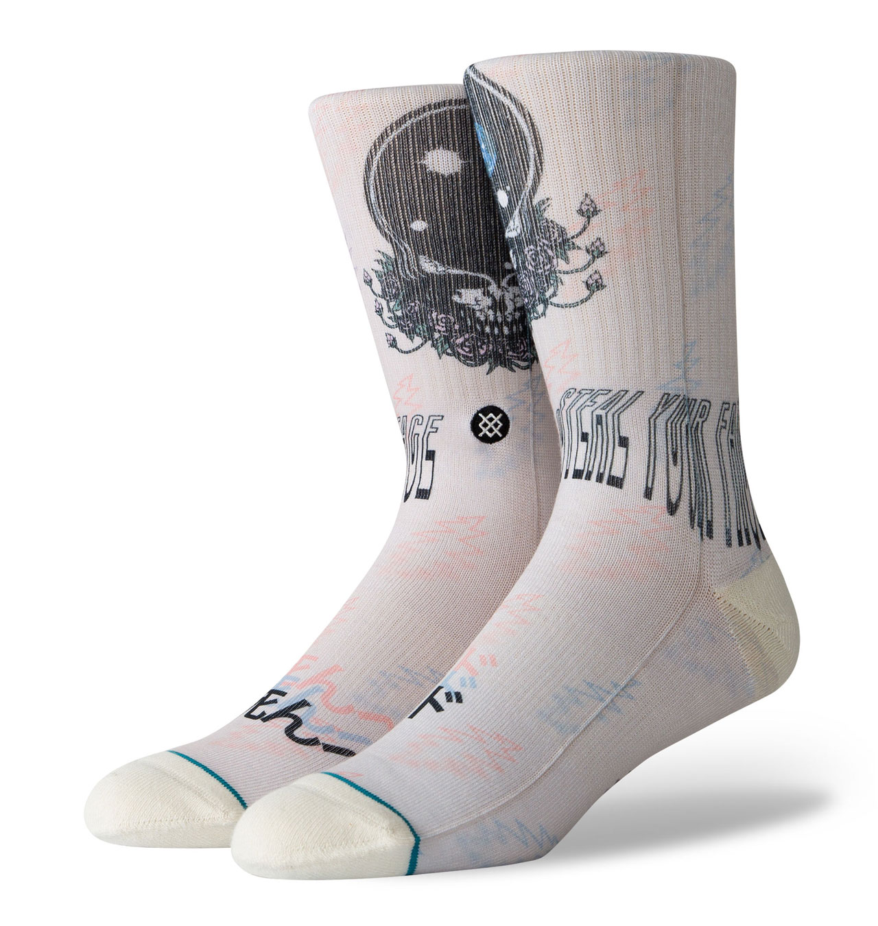 Stance - Grateful Dead Steal Your Face Socks