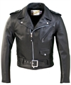 Schott NYC - ONE STAR PERFECTO LEATHER MOTORCYCLE JACKET 613
